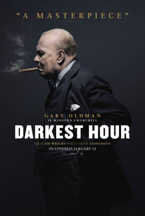 New Movie Posters for Darkest Hour