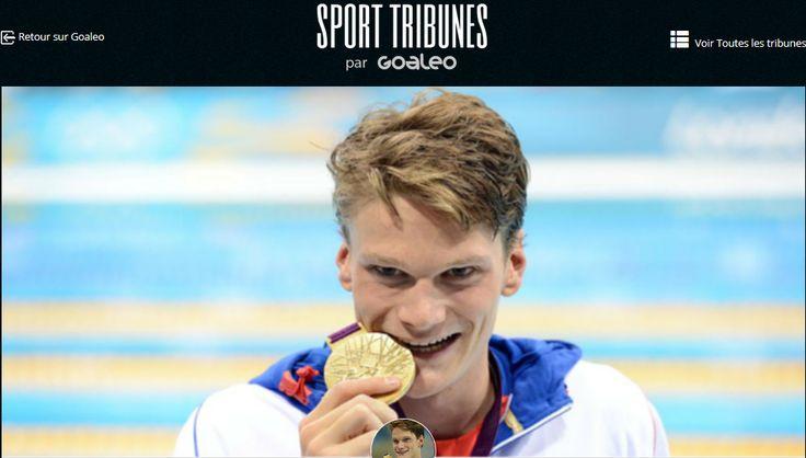"""Yannick AGNEL, Coach Goaleo: """"LA FOLIE DES JEUX OLYMPIQUES""""  #olympics #olympiques #natation #swin #swimming #goldmedal #train #training #coaching #goaleo #yoursportyourgoal #JO #workhard #jeux"""