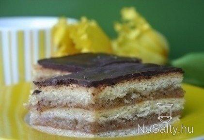 Zserbó szelet Kikitől: http://www.nosalty.hu/recept/zserbo-szelet-1#