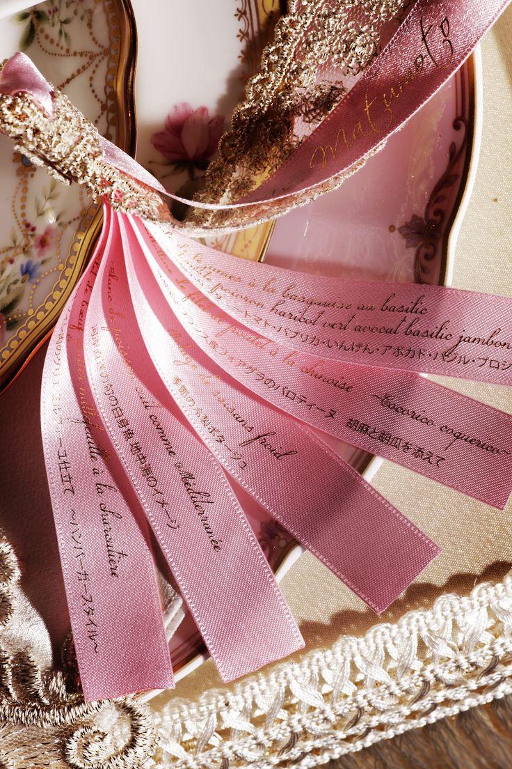 wedding Item paper#Wedding #TRUNK #OneHeart #nametag
