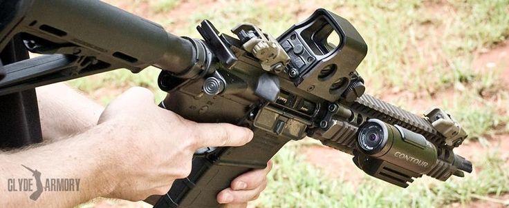 Daniel Defense MK18, EOTech, and Contour camera. |CLYDE ARMORY|