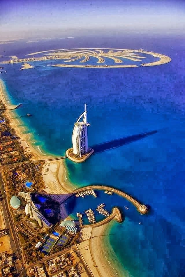 Beautiful Dubai <3,<3 I don't know how many times it is possible to fall in love with this place <3 can't wait to see youuuuu