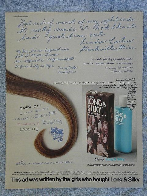 Clairol Long and Silky conditioner: 60 S Styles, Vintage Photos, 70S, 1972 Clairol, Vintage Retro Modern, Childhood 60 S, 60S 80S Makeup, Clairol Long