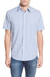 James Campbell 'Hamm' Regular Fit Short Sleeve Print Sport Shirt available at Nordstrom.
