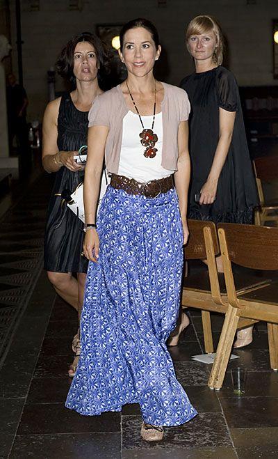 Księżna Mary: Mary podczas Copenhagen International Fashion Fair