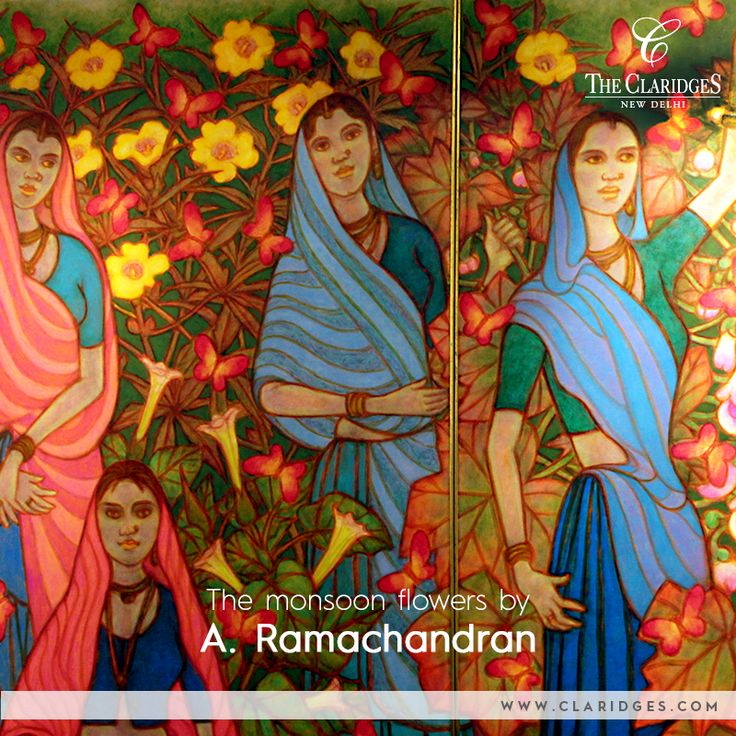 Delve into A Ramachandrans' expressionistic style of art and understanding of color at the Crayon Art Gallery.