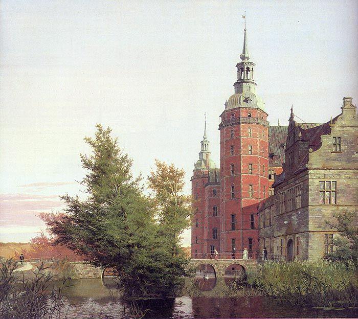 Christen Købke (1810-1848): Frederiksborg Castle Seen from the Northwest, 1836, Staatens Museum fur Kunst, Copenhagen