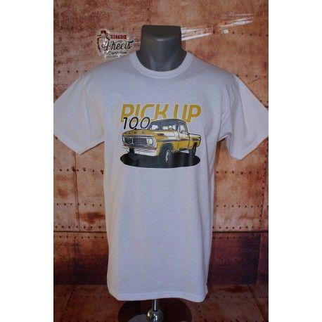 Tee shirt Ford Pick-up 100 pour homme Impression sur le devant Plusieurs tailles disponibles.