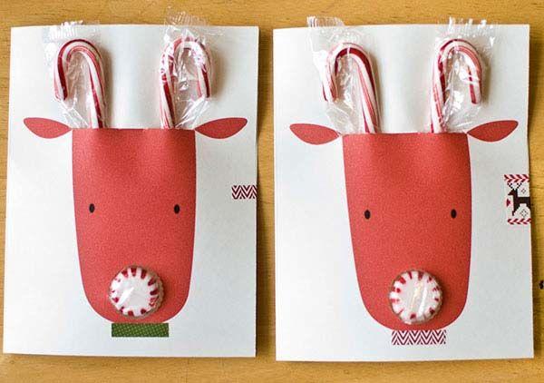 5 Ideas de Tarjetas de Navidad hechas a mano