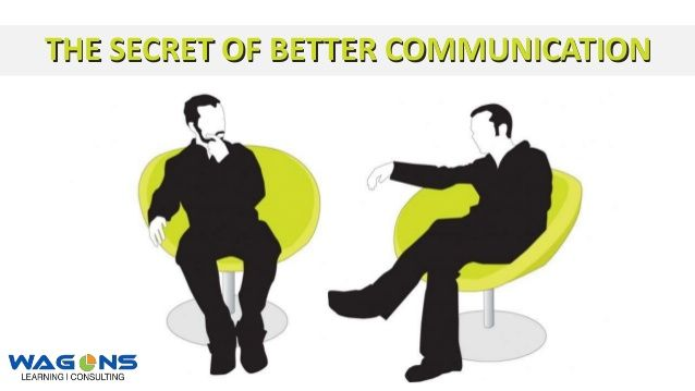 The Screts of Better Communication Skills - Training #communication  #skills  #training