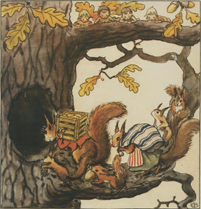 Illustration Elsa Beskow.. classic! like it