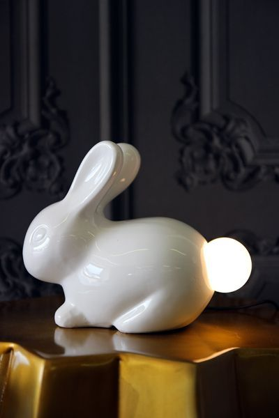 Bunny tail lamp