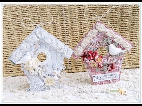 Traditional Christmas Cards Tutorial - Wild Orchid Crafts - YouTube
