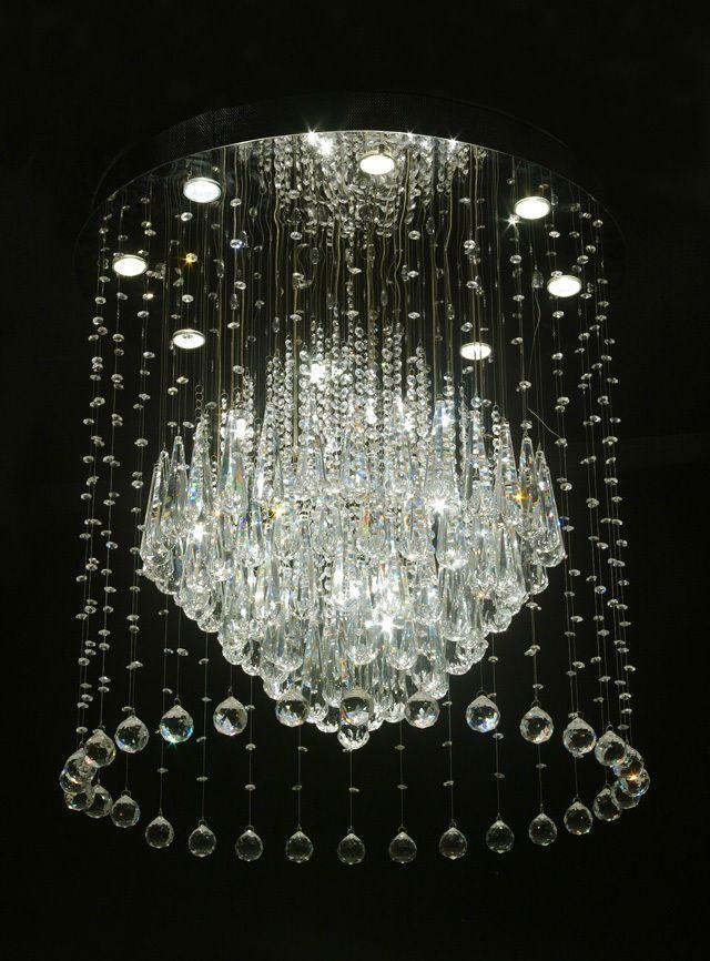 Modern Crystal Chandeliers Ara As Pinterest