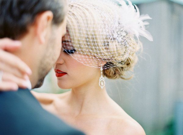 136 Best Images About Different Ways To Wear A Birdcage Veil On Pinterest