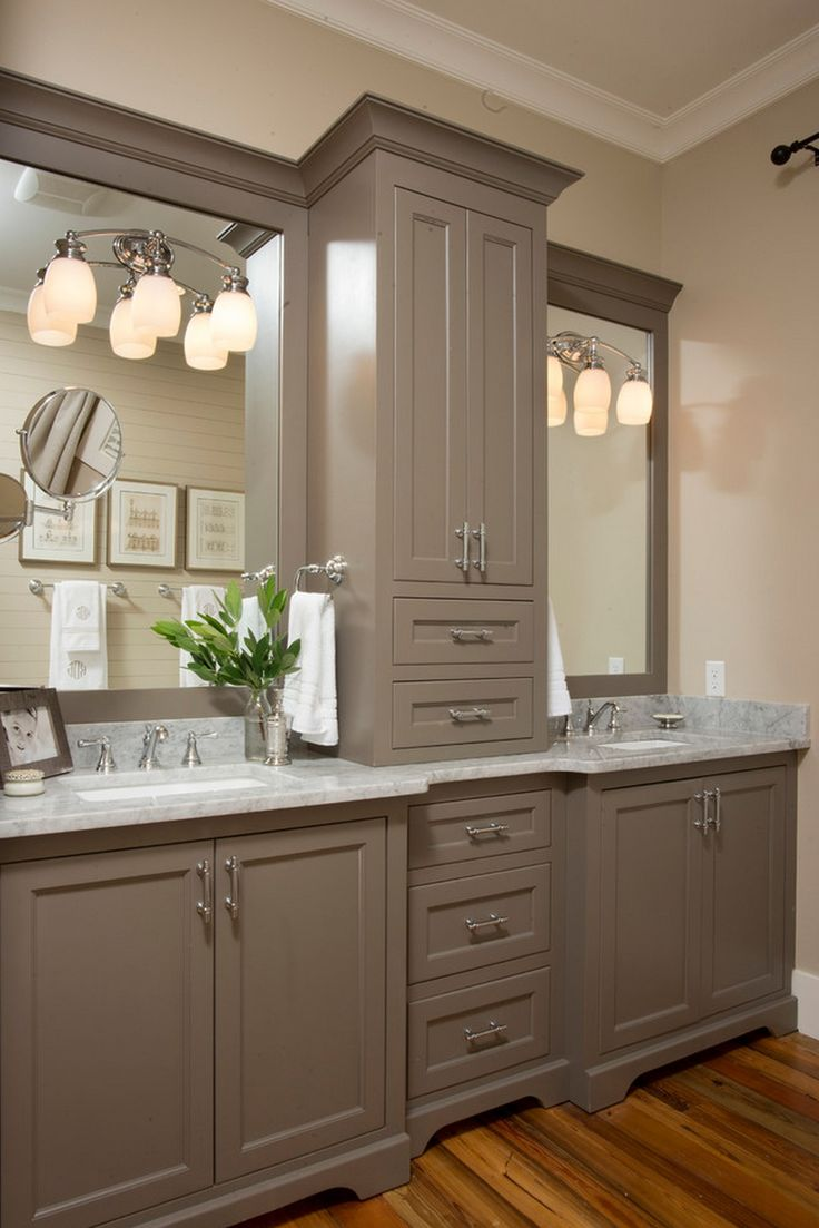 Like Cabinet Color Hampton Hall  Farnsleigh  Farmhouse  Bathroom   Charleston  Court Atkins Architects