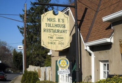 Mrs. K's Tollhouse Restaurant in Silver Spring, MD