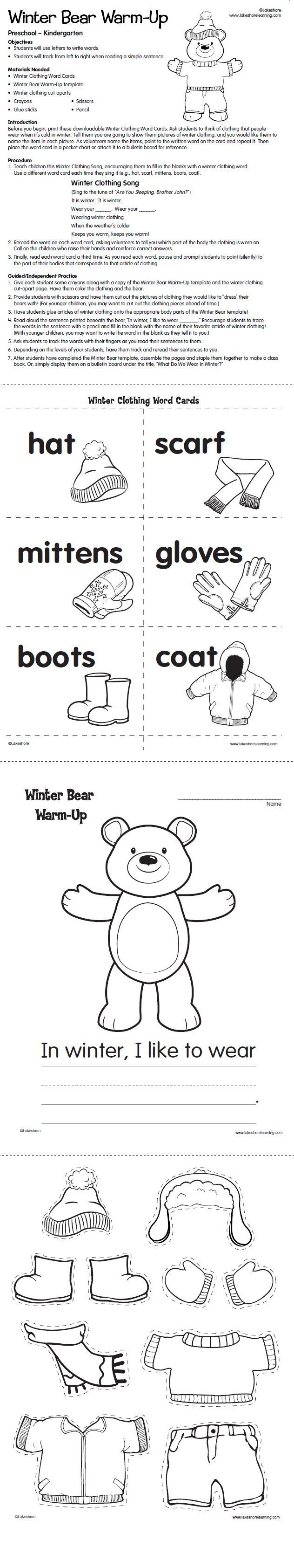 Best 25 winter words ideas on pinterest winter definition with this winter themed lesson plan preschoolers kindergartners practice using letters to write sciox Gallery