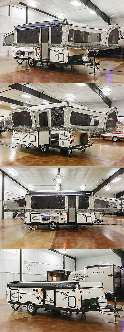 rvs: New 2017 627D Lite Fold Down Pop Up Folding Tent Camper Pop-Up Shower Never Used -> BUY IT NOW ONLY: $10999 on eBay!