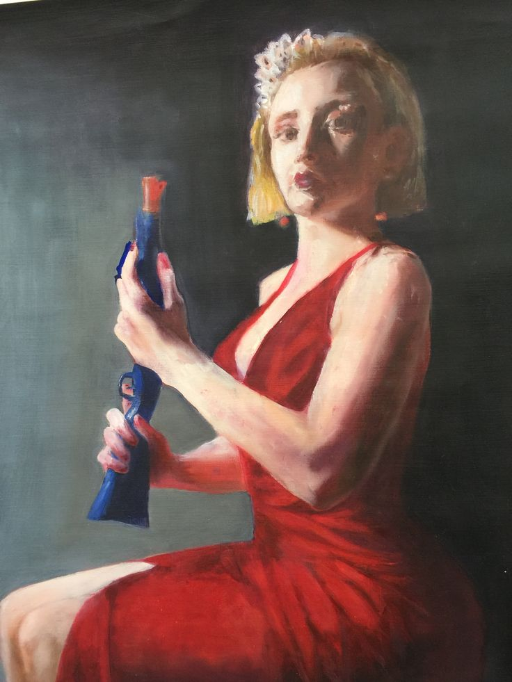 Beth Alexander - Gendered objects - Oil paint.