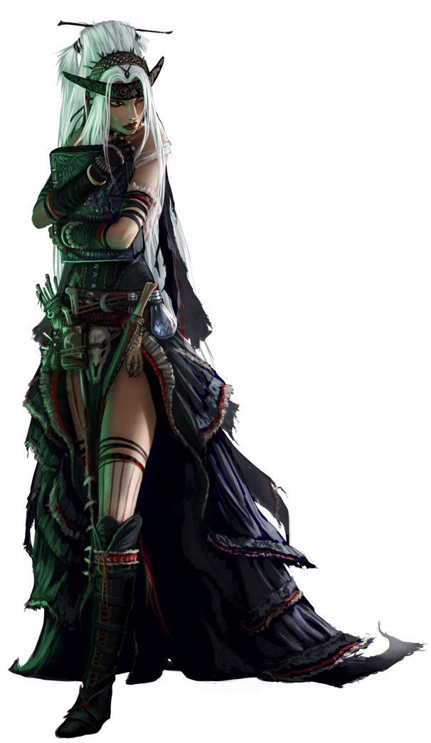 Akeiron  Archetyp Charakter aus dem P&P-RPG 'Pathfinder'. Ich finde diese Darstellungen einfach phantastisch.