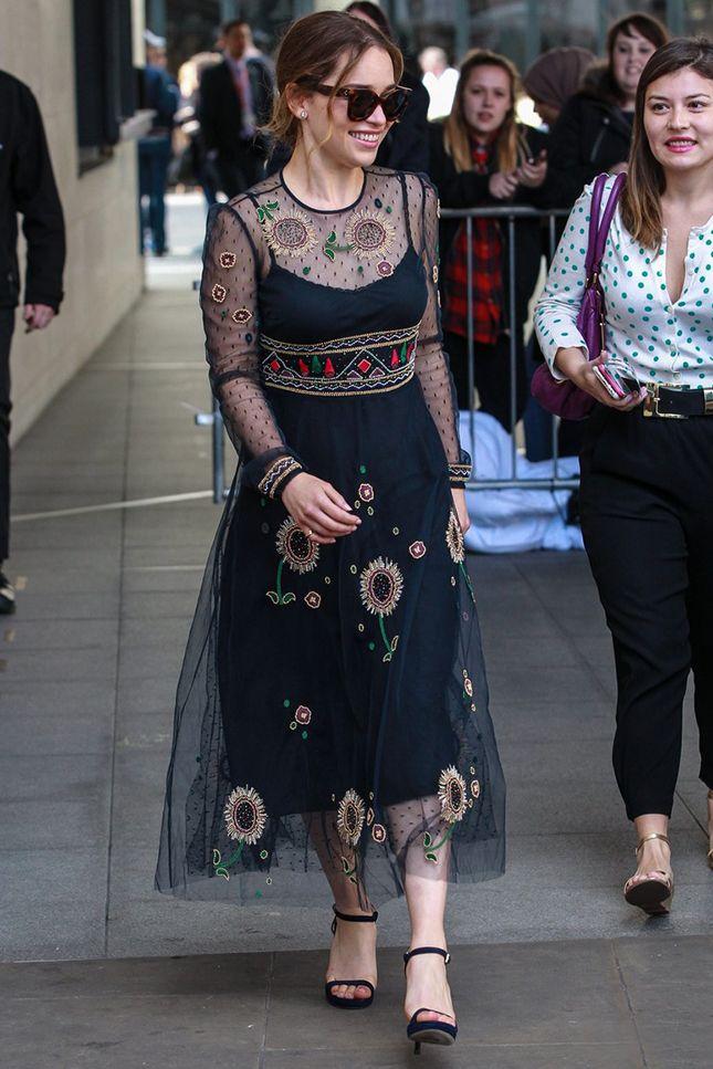 Эмилия Кларк в Valentino в Лондоне