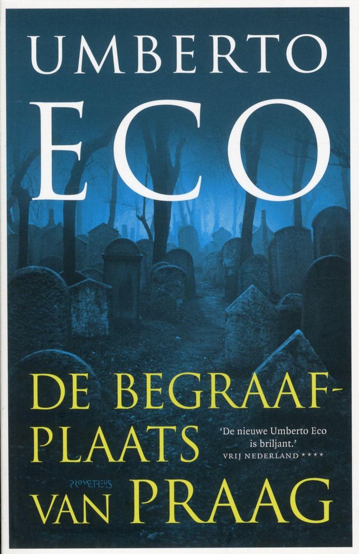 Umberto Eco - De begraafplaats van Praag