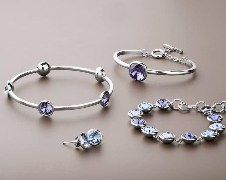 Bracciali B-Tring ed orecchini E-Tring con cristalli Swarovski, Disponibles en Chile!