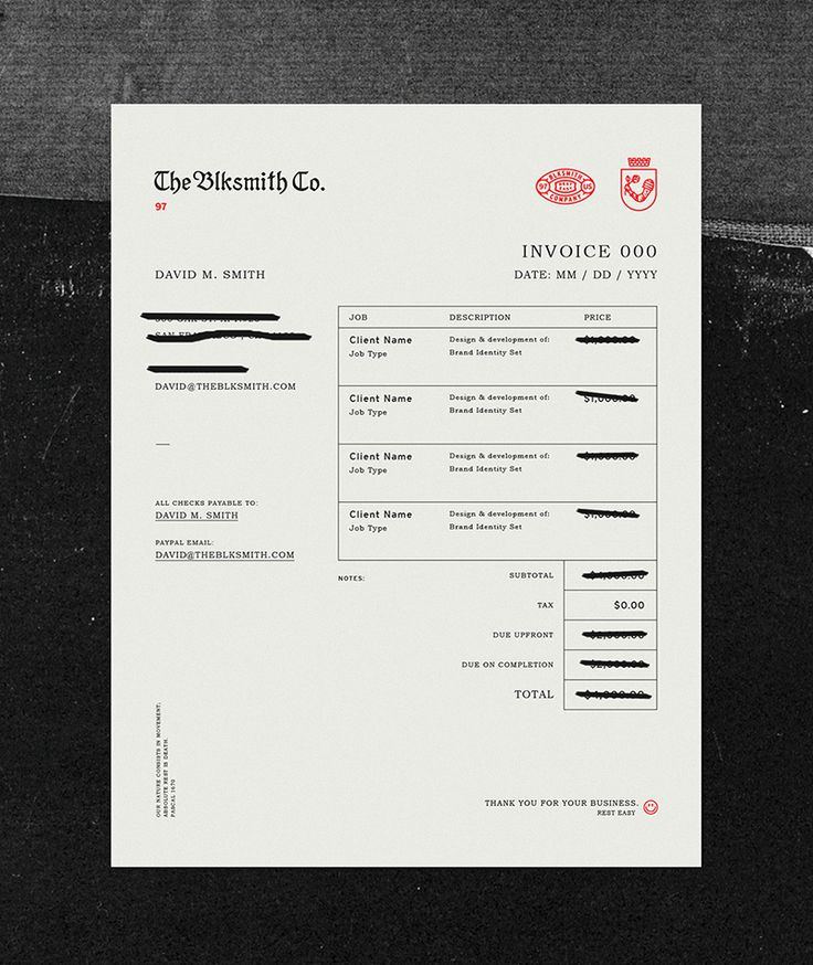94 best Invoice images on Pinterest App design, Brand identity - essential invoice elements