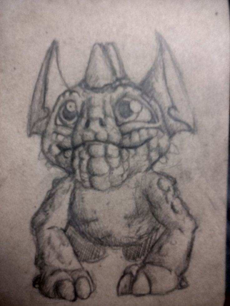 Dragon Topotun by kuuvalas on DeviantArt #cute #cutemonster #sketch