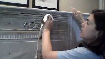 How to Paint Furniture Fast Using Chalk Paint - YouTube
