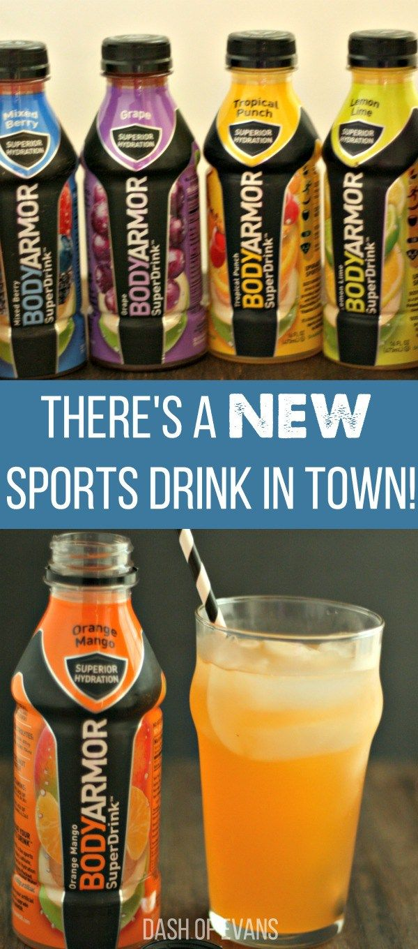 BODYARMOR is a premium sports drink with more potassium