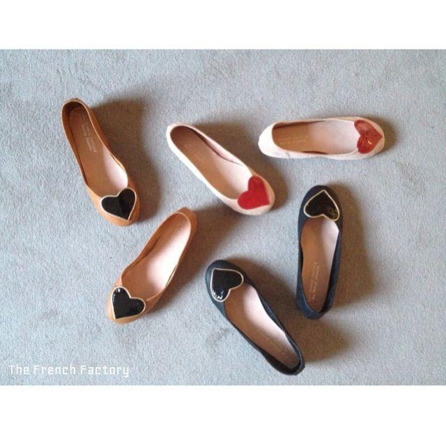Heart Ballet Flats