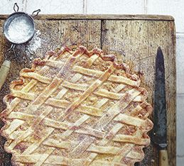 Grain, especially wheat, is a very important ingredient in Italy. Once upon a time, it was used as payment, and this 'wheat tart', has some religious significance as well. It is made at Easter in the South of Italy, especially in Naples, to give as a present.