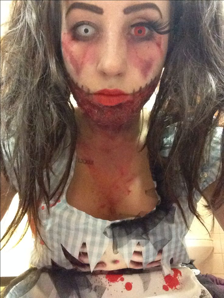 8 best images about Party Ideas on Pinterest   Scary doll makeup ...