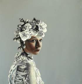 Pippa Young, Self-propagate oil on paper 50 x 50cm