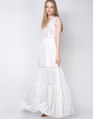 Φόρεμα maxi αμάνικο