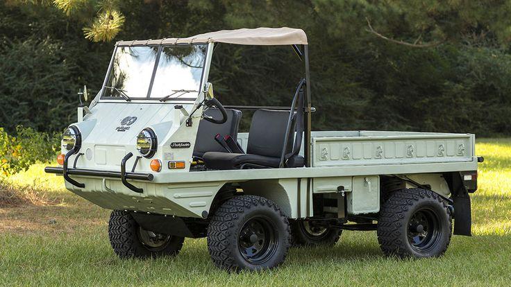 1971 Steyr Haflinger 700 AP presented as Lot T138.1 at Dallas, TX