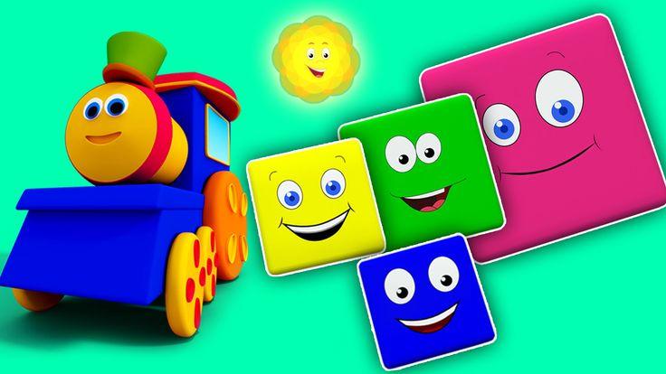 Bob, The Train | Bob Train Color Ride for Childrens | Bob kereta api war...Hi anak-anak hari ini Bob dalam pengembaraan baru untuk membuat kawan-kawan baru. Video ini akan mengajar anak-anak anda tentang warna. Oleh itu membolehkan bersenang-senang. #kids #toddlers #rhymesforkids #colorride #educational #learning #parenting #preschoolers #homeschooling #kindergarten #kidsvideos