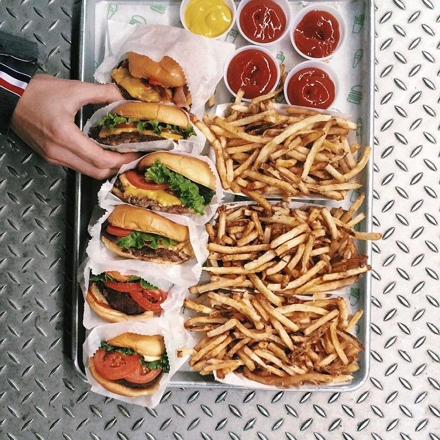 How to Instagram a Shake Shack Meal Properly - Bon Appétit
