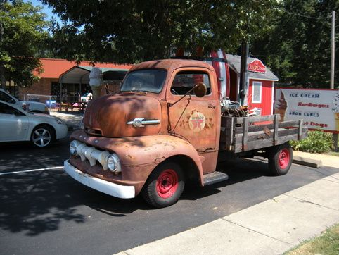 1951 ford coe tow - photo #30
