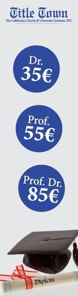 Titel kaufen - Diplom kaufen erwerben - Berufszertifikat kaufen erwerben - Titelkauf