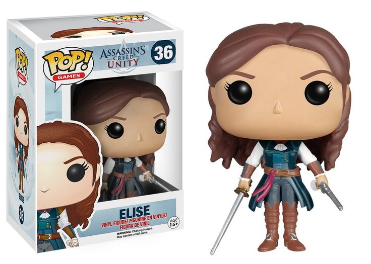 Funko Pop! Games: Assassins Creed Unity - Elise