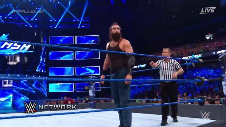 NOTHING will come between Luke Harper and his target Erick Rowan at WWE Backlash on WWE Network!!!!