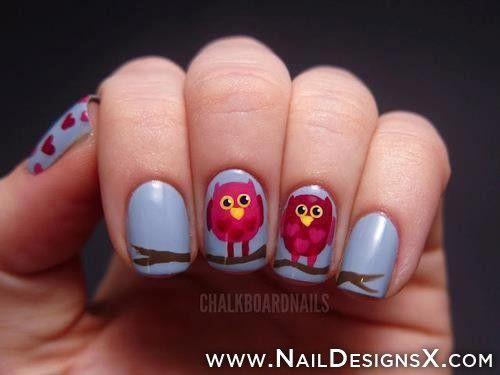 abstract nail art » Nail Designs & Nail Art