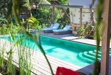 Mana Sari - Vacation Home in Ubud, Bali. saltwater pool overlooking the jungle. tropical living