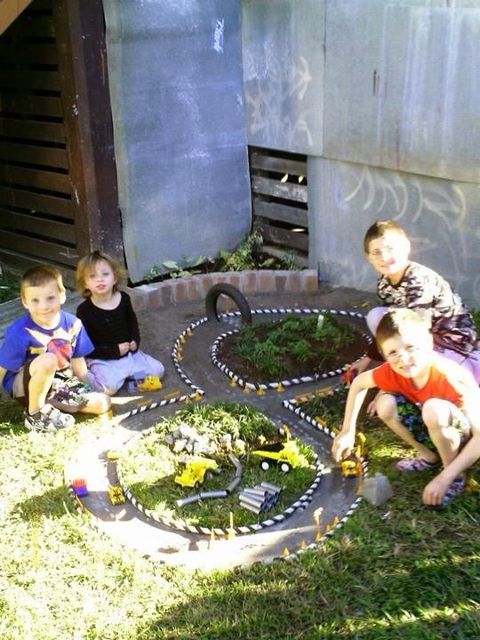 Learn how to make a Backyard Race Car Track for the kids. This is an easy DIY and it will keep the family entertained for hours. Get the tutorial now.
