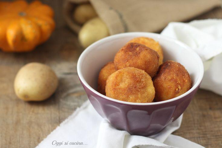 Polpette di zucca e patate