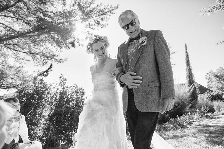 Walking down the isle with Stepdad