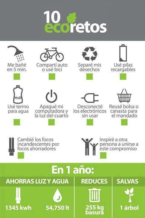 10 eco retos para considerar @diario_ecologia